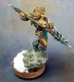 KAYA THE REAPER, FEMALE BARBARIAN SERGEANT