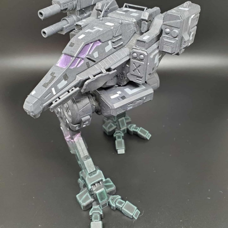 Digital Camo Raven BattleMech (Large Scale)