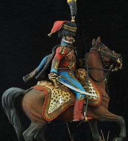Officier 9e regiment de hussards 1809