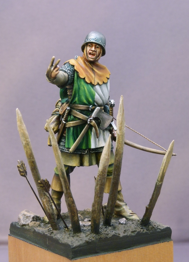 English Archer By Michael J 228 Nicke 183 Putty Amp Paint
