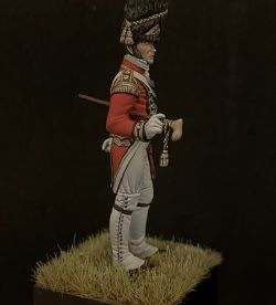 Officer of the 1st Foot Guard Saint James Palace Company Grenadier, G.Britain 1808