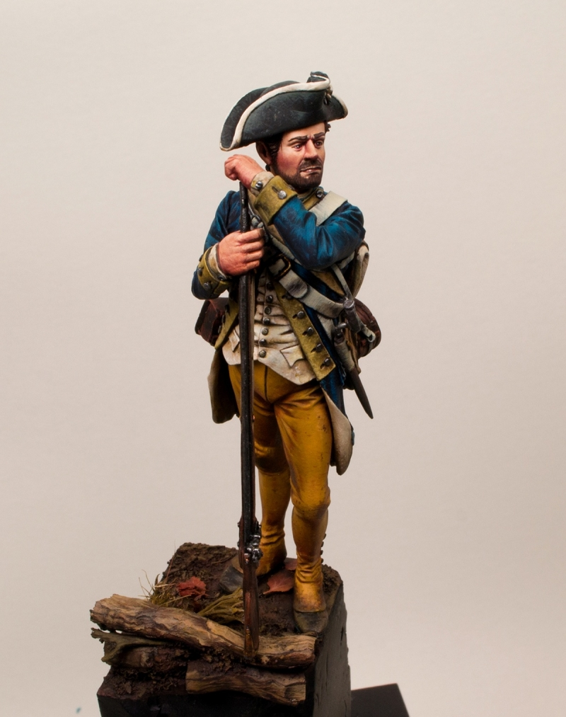 Private , 1st New York regiment, continental line