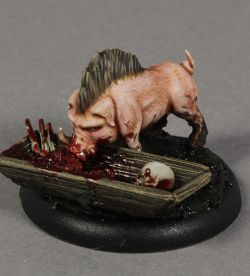 Four little piglets. Bayou, Malifaux