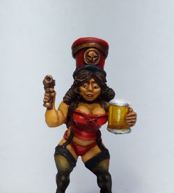 Chaos Dwarf Tavern Wench - Bar Maid