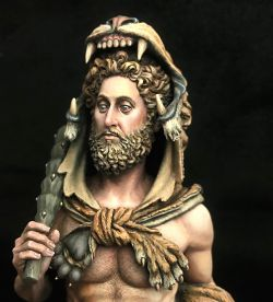 Commodus disgused Hercules