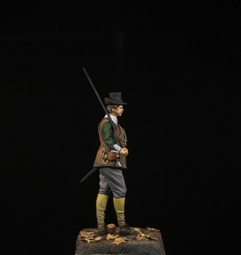 English Civil War Musketeer 1651