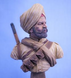 Sikh Infantryman, Indian Army WWI.
