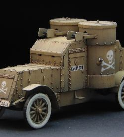 1:72 Austin Putilov WWI Armoured Car