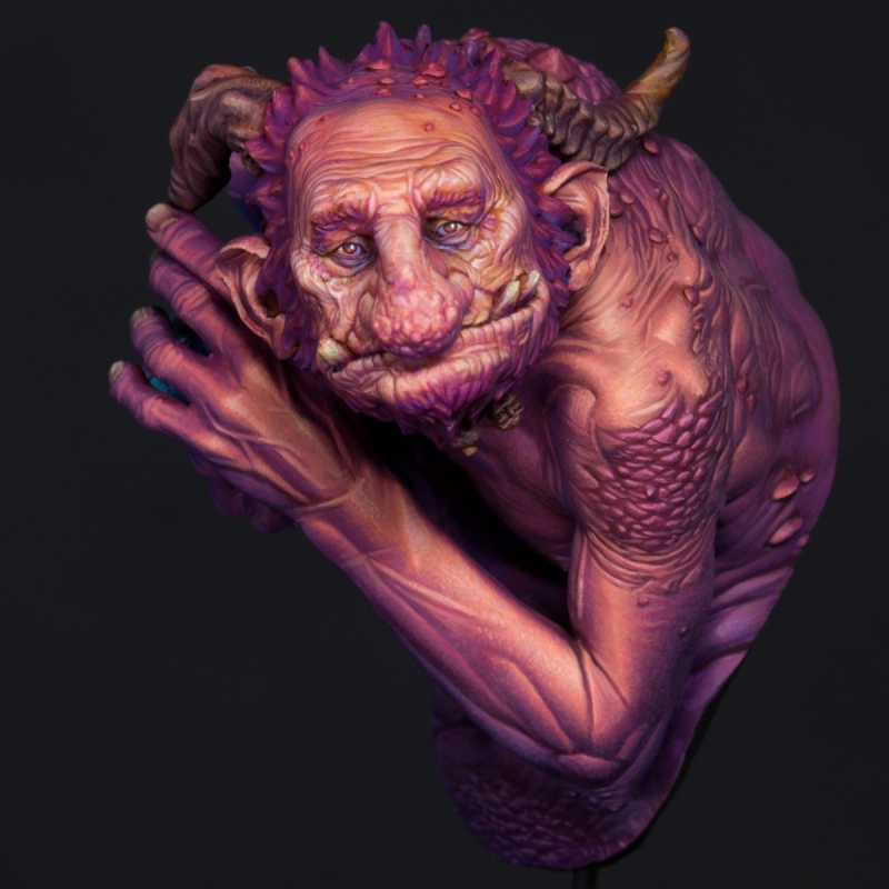 Spira Mirabilis Troll - A Guardian of the Forest