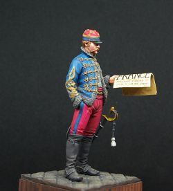 French Hussar Officer 1871