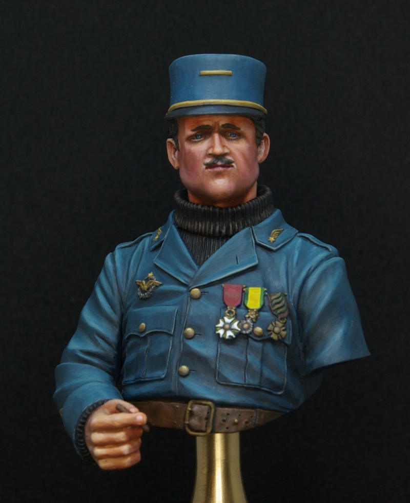 French World War One Pilot