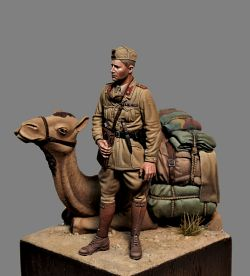 Italian officer 1.35 scale