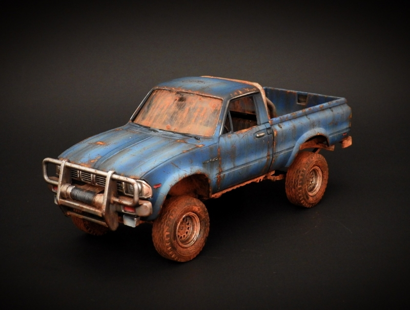 Post-Apocalyptic 1984 Toyota Pickup Truck