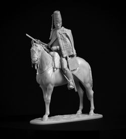 Seven Years ' War. Black Hussar.