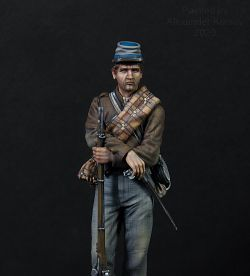 Confederate soldier American civil war