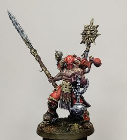Slaughterpriest converted as Exalted Champion of Khorne