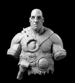 Barbarian Bust