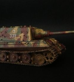 Jagdtiger on the forest road 1/35
