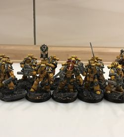 Imperial Fists veterans