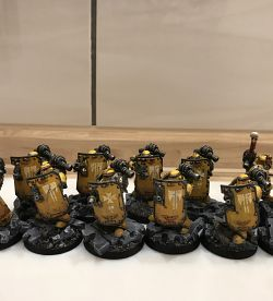 Imperial Fists Breacher Squad with Apothecary