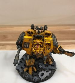 Imperial Fists Ironclad MkIV Dreadnought