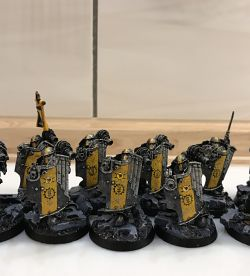Imperial Fists Breacher Squad 2 with Apothecary