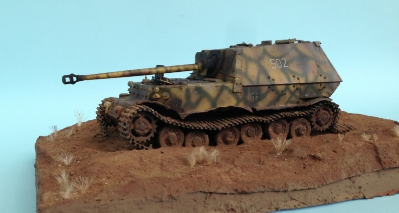 """Left at Kursk"" my first diorama"