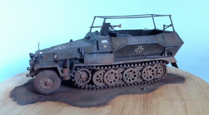 Sd.Kfz. 251/17 Ausf. C Commander Vehicle