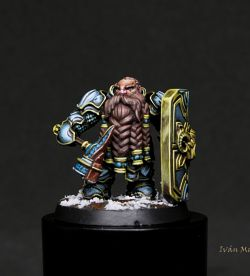 dwarf tank warrior