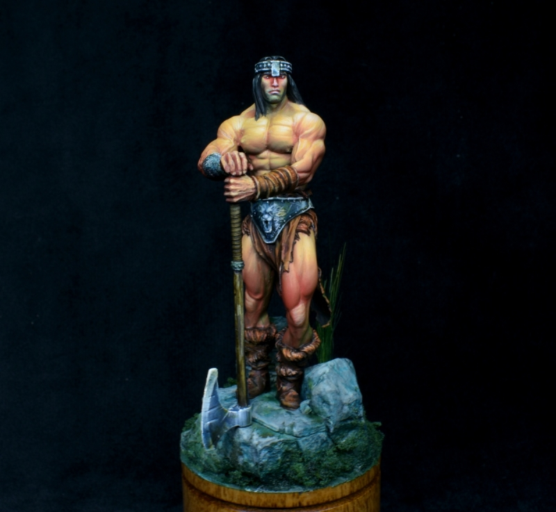 Conan in Bisley Style