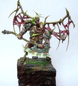 Nurgle demon prince