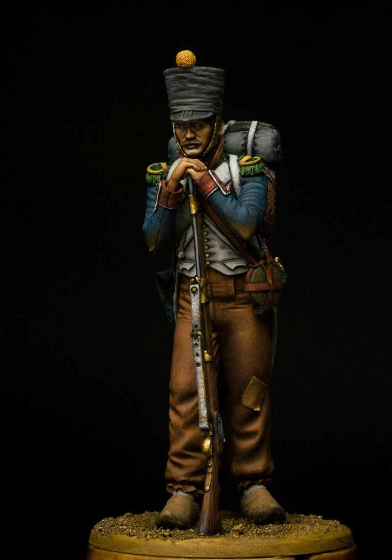 French line infantry Voltigeur, 1812