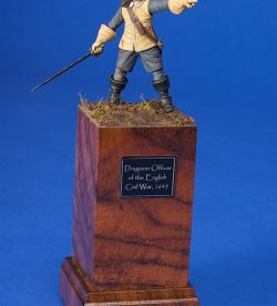 Dragoon Officer of the English Civil War 1645