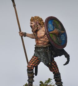 Celtic warrior (1 century BC)