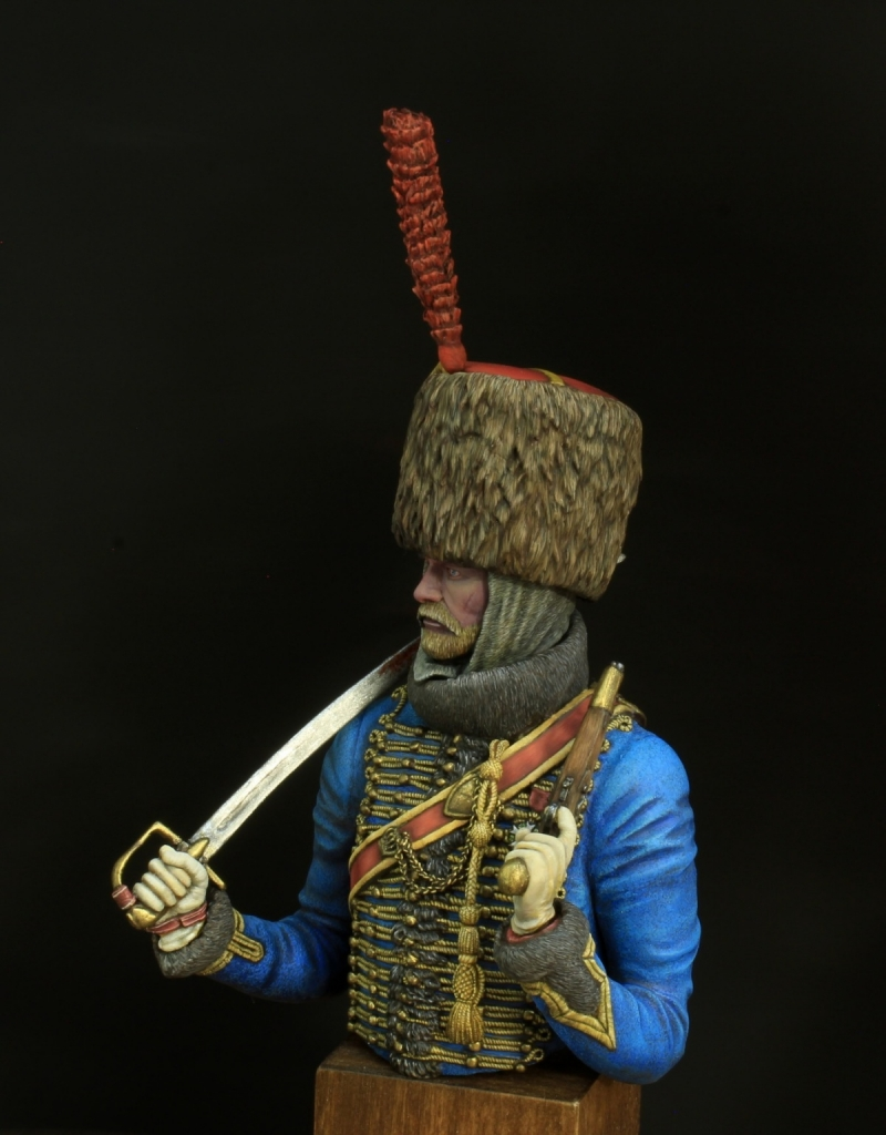 French hussar of an elite company. 1812