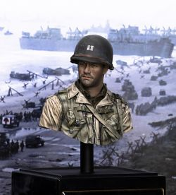 1/10 WW2 U.S. Ranger, Normandy 1944 (Young Miniature) Head replaced