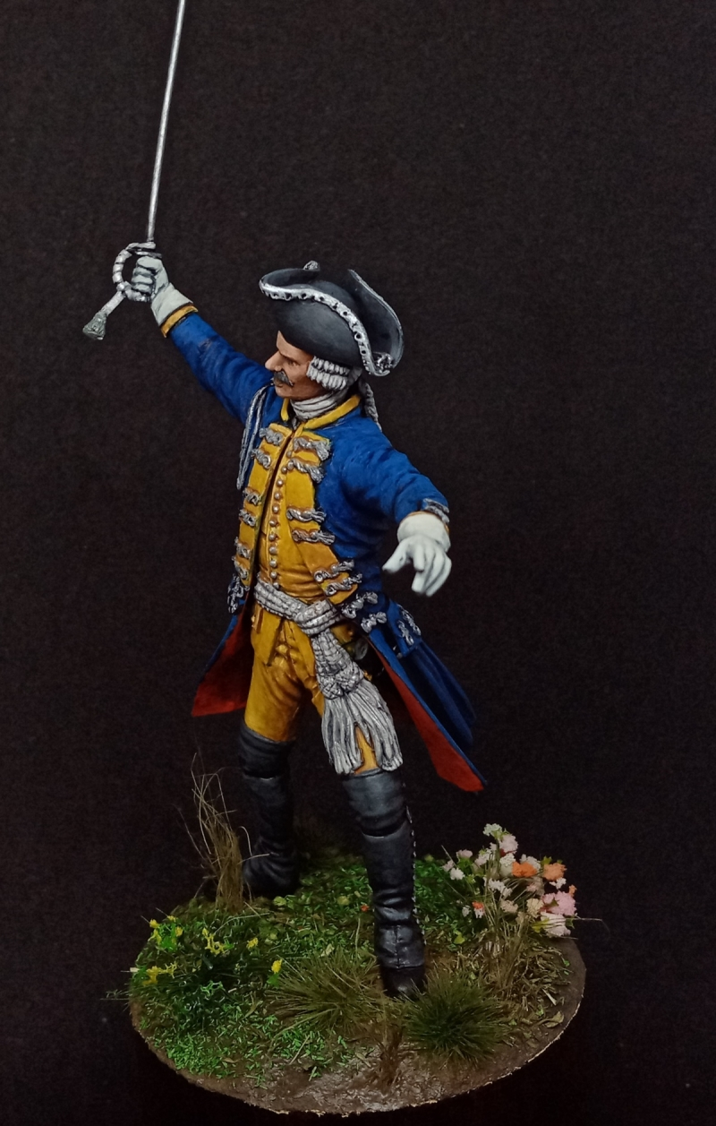 Hessen-Cassel. Leib infantry Regiment. Officer 1776