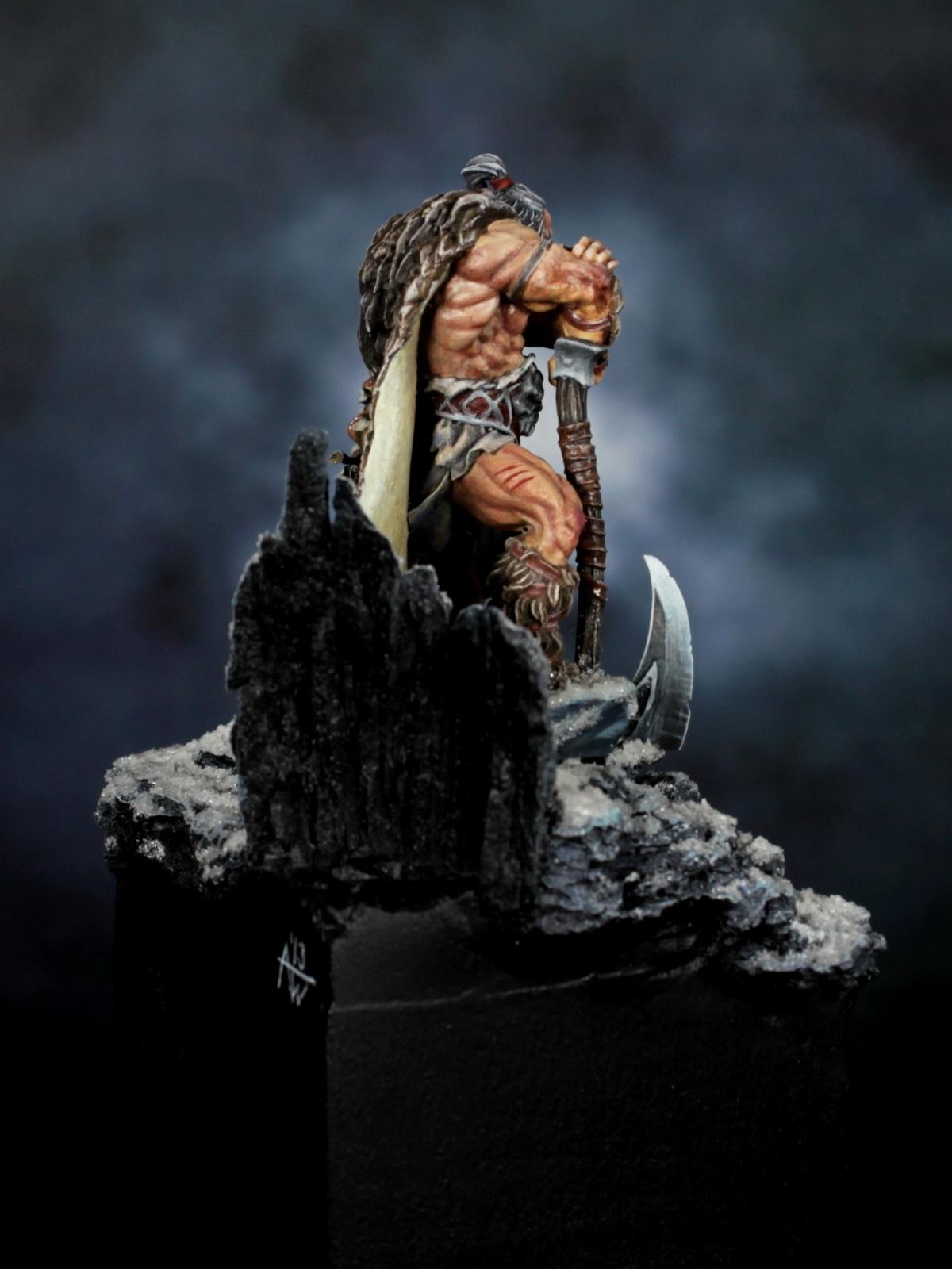 Druss The Legend Deathwalker By Arne Wilkens PuttyampPaint