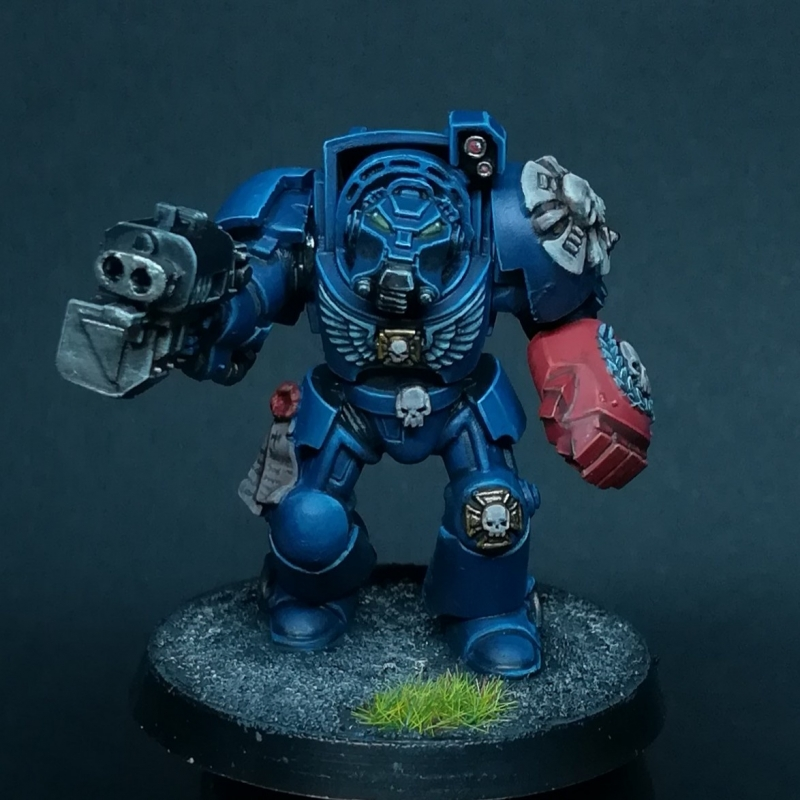 Crimson Fists Terminator