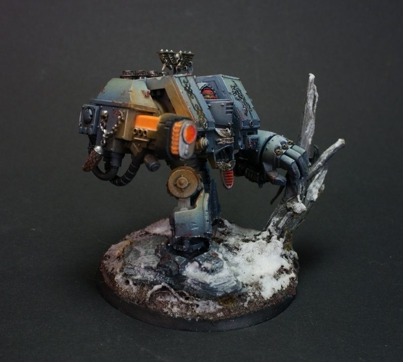 Space Wolves Cybot