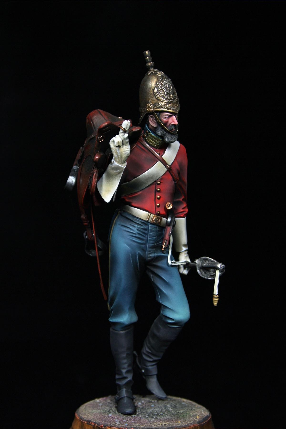 british dragoon crimean war by eduardo sanchez  u00b7 putty u0026paint