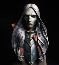 Dark Elf as Vampire