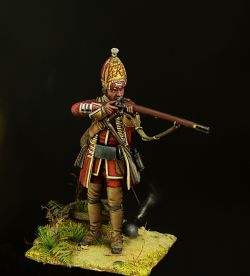 British grenadier of the 12-th regiment.