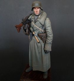 German machine gunner, Tamiya 1/16