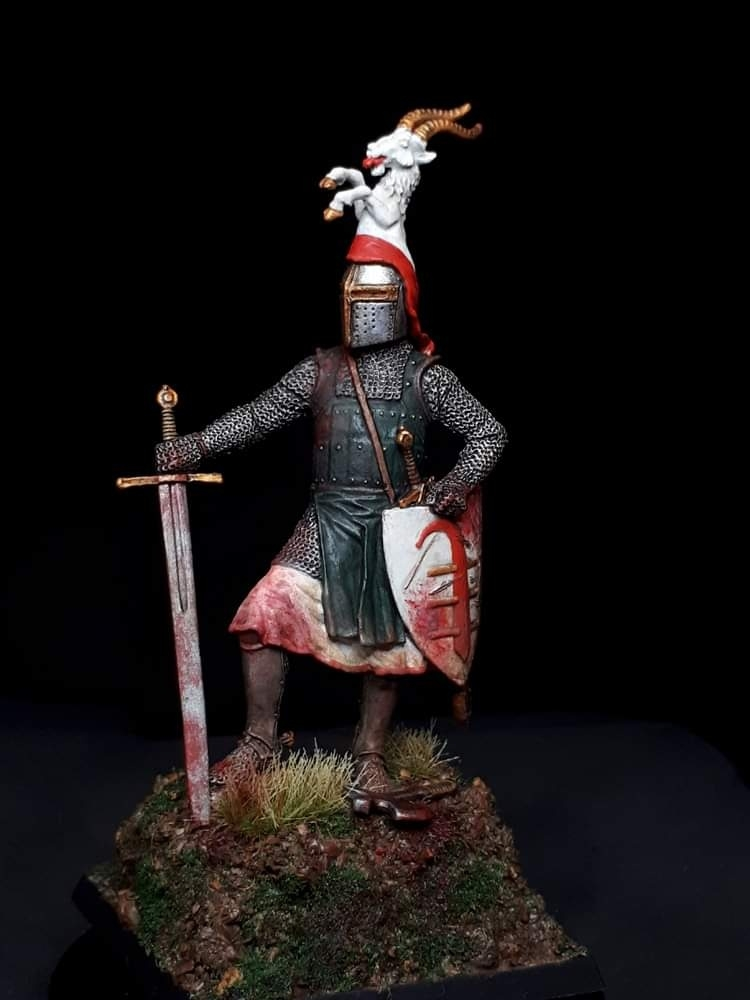 German Knight of the Von Bredow family 1290