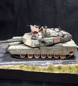 M1A2 Sep V2 during combined resolve Exercise