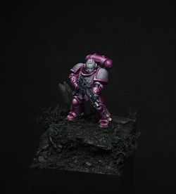 A single space marine