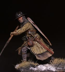 Infantryman of the Teutonic order