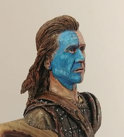 William Wallace/ Braveheart war paint