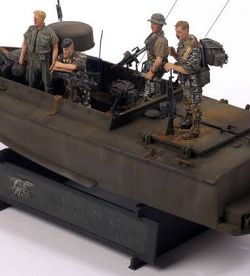 Navy Seal Fast Boat and crew, Vietnam